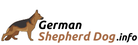 German shepherd Dog Logo